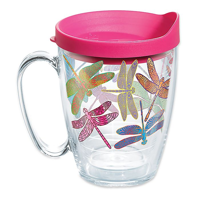 Alternate image 1 for Tervis® Dragonfly Mandala 16 oz. Mug