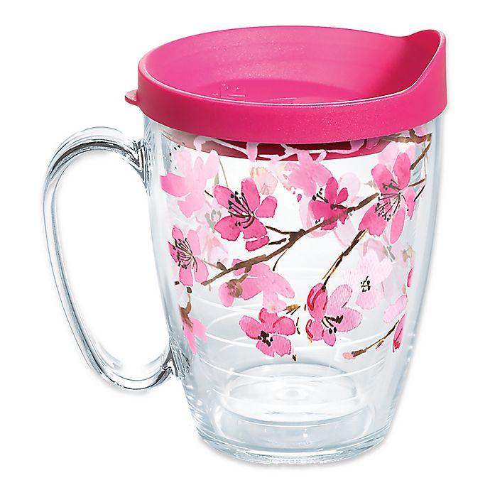 Alternate image 1 for Tervis® Japanese Cherry Blossom 16 oz. Mug
