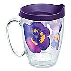 Tervis® Watercolor Pansy 16 oz. Wrap Mug with Lid