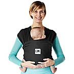 Baby K'tan® Breeze Extra-Small Baby Carrier in Black