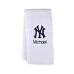 Designs by Chad and Jake MLB New York Yankees Burp Cloth