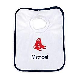 Designs by Chad and Jake MLB Boston Red Sox Bib