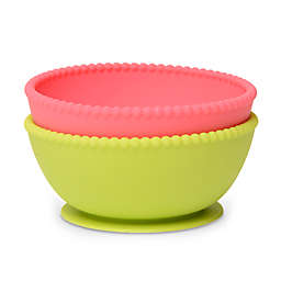 chewbeads® CB Eat Silicone Suction Bowls (Set of 2)