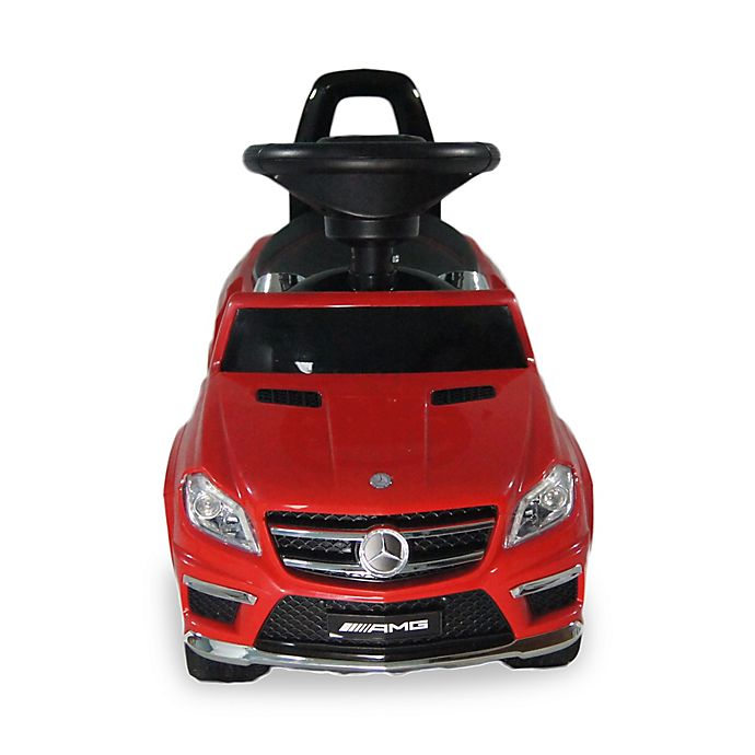 Alternate image 1 for Licensed Mercedes 4-in-1 AMG Push Car in Red