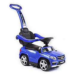 Licensed Mercedes 4-in-1 AMG Push Car in Blue