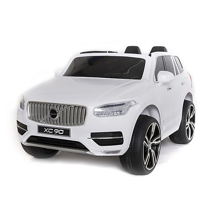 Buy Used Volvo: Buy Volvo XC90 Ride-On In White From Bed Bath & Beyond