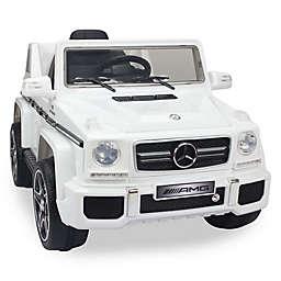 Licensed Mercedes G63 12-Volt Ride-On in White