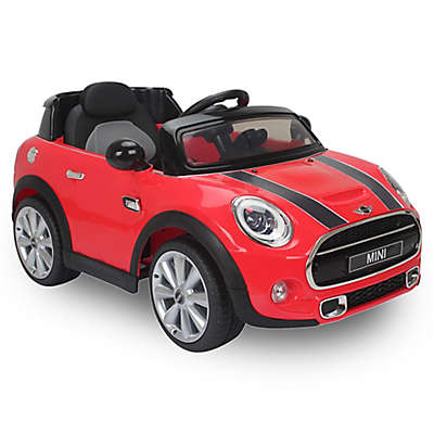Best Ride On Cars Licensed 12V Mini Cooper in Red