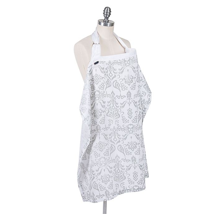 Alternate image 1 for Bebe au Lait® Muslin Nursing Cover in Atherton