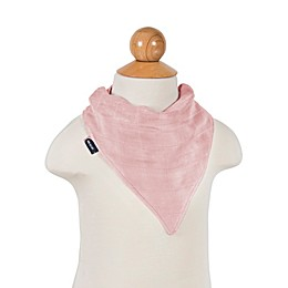 be au Lait® 2-Pack Rose Quartz and Petal Bandana Muslin Bib