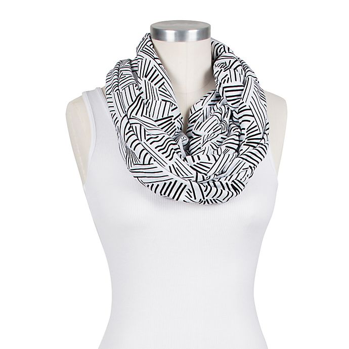 Alternate image 1 for Bebe au Lait® Infinity Nursing Scarf in Montauk