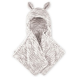 Hudson Baby® Zebra Plush Hooded Blanket