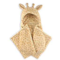 Hudson Baby® Giraffe Plush Hooded Blanket