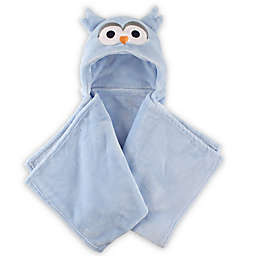 Hudson Baby® Owl Plush Hooded Blanket