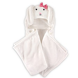 Hudson Baby® Bunny Plush Hooded Blanket