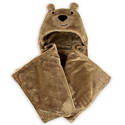Hudson Baby® Bear Plush Hooded Blanket