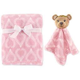 Hudson Baby® Bear Plush Security Blanket Set