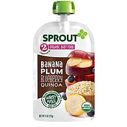 Sprout® 4-Ounce Stage 2 Organic Baby Food in Plum, Berry, Brown Rice & Quinoa