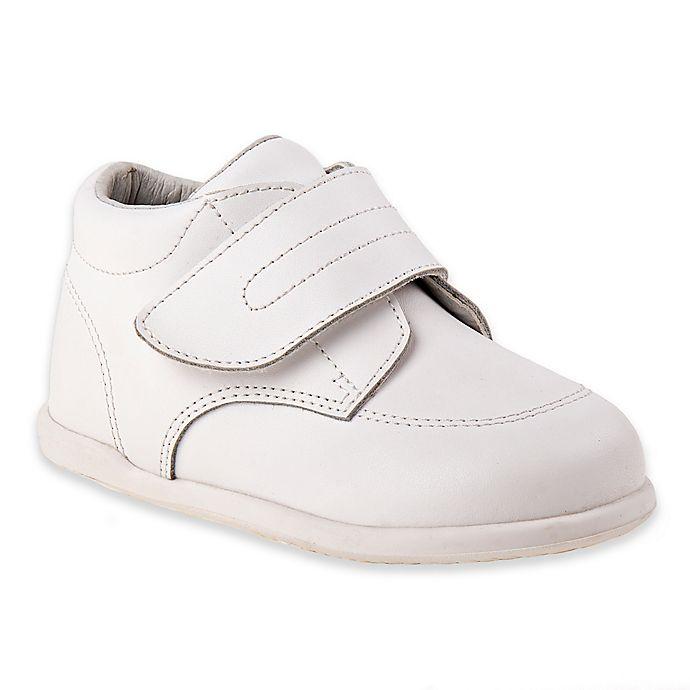 Alternate image 1 for Josmo Shoes Smart Step Medium Width Hook and Loop ® Walking Shoe in Black