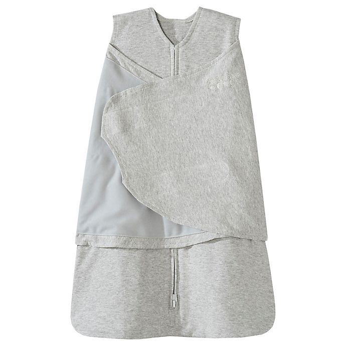 Alternate image 1 for HALO® SleepSack® Multi-Way Adjustable Swaddle in Grey
