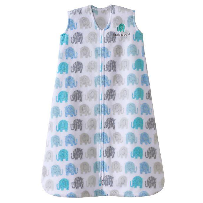 best website ae8f9 ba460 HALO® SleepSack® Elephant Micro-Fleece Wearable Blanket in ...
