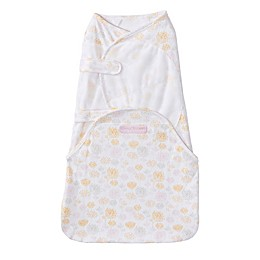HALO® SwaddleSure™ Floral Adjustable Swaddling Pouch in White/Yellow