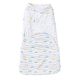 HALO® SwaddleSure™ Tune Up Adjustable Swaddling Pouch in White/Grey