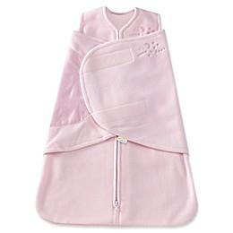 HALO® SleepSack® Preemie Multi-Way Adjustable Fleece Swaddle in Pink