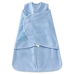 HALO® SleepSack® Preemie Multi-Way Adjustable Fleece Swaddle in Blue