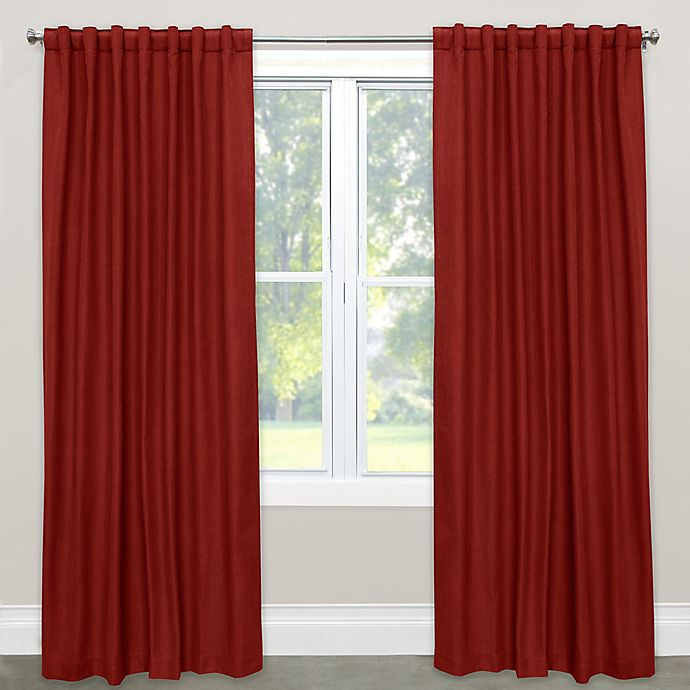 Alternate image 1 for Skyline Furniture Solid Rod Pocket Room Darkening Curtain Panel