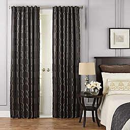 Beautyrest® Yvon Rod Pocket/Back Tab Room Darkening Window Curtain Panel (Single)