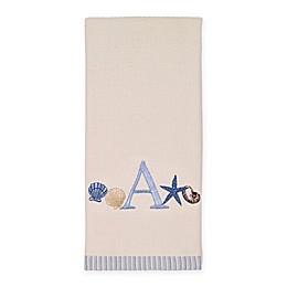 Avanti Antigua Cotton Embroidered Monogram Kitchen Towel