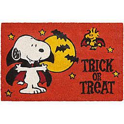 Nourison Peanuts Halloween Coir Door Mat