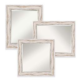 Amanti Art Alexandria Mirror in White