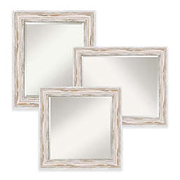 Amanti Art Alexandria Mirror in White
