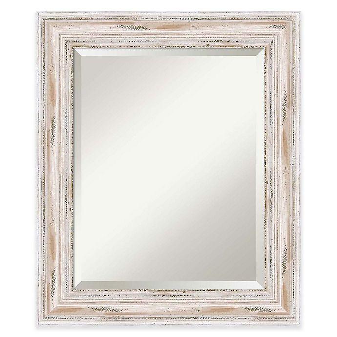 Alternate image 1 for Amanti Art Alexandria 21-Inch x 25-Inch Mirror in White