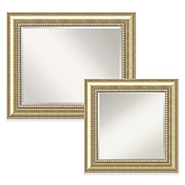 Amanti Astoria Wall Mirror in Gold