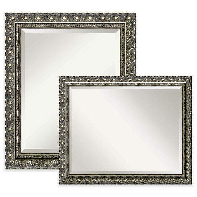 Alternate image 1 for Amanti Art Barcelona Bathroom Mirror in Gold