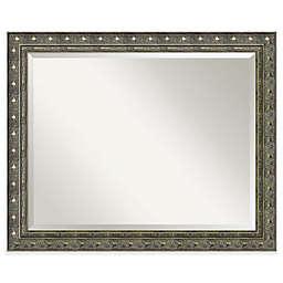 Amanti Art Barcelona 32-Inch x 26-Inch Bathroom Mirror in Gold