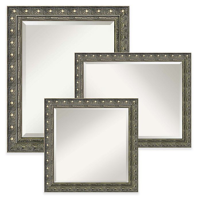 Alternate image 1 for Amanti Art Barcelona Bathroom Wall Mirror in Gold