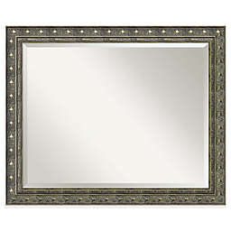 Amanti Art Barcelona 26-Inch x 32-Inch Bathroom Wall Mirror in Gold