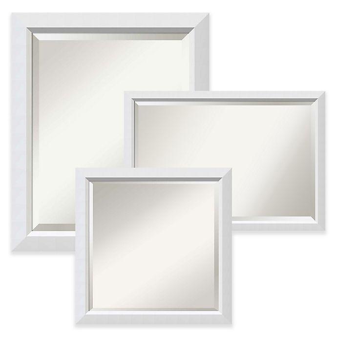 Alternate image 1 for Amanti Art Blanco Mirror