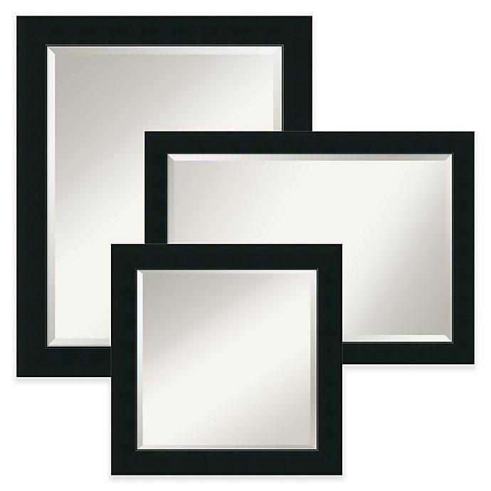 Alternate image 1 for Amanti Art Corvino Mirror in Black