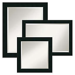 Amanti Art Corvino Mirror in Black