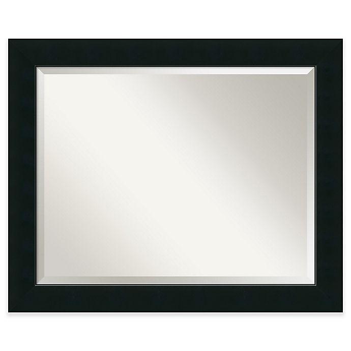 Alternate image 1 for Corvino 33-Inch x 27-Inch Mirror in Black