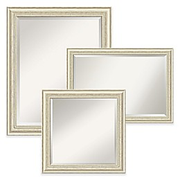 Amanti Art Country Wall Mirror in Beige