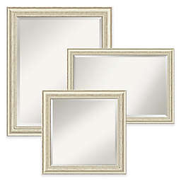 Amanti Art Wall Mirror in Country White