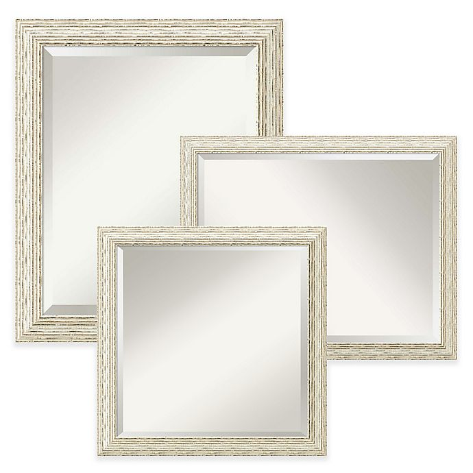Alternate image 1 for Amanti Art Cape Cod Mirror in White Wash