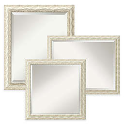 Amanti Art Cape Cod Mirror in White Wash