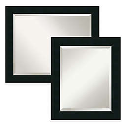 Armanti Corvino Bathroom Wall Mirror in Black